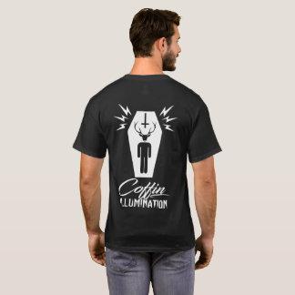 棺の照明(黒) Tシャツ