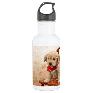 椅子の金子犬 ウォーターボトル