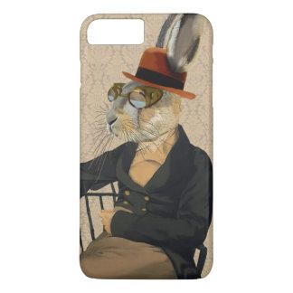 椅子のHoratioのノウサギ iPhone 8 Plus/7 Plusケース