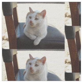 椅子材料の猫 ファブリック