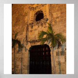 植民地地帯、サント・ドミンゴのドミニコ共和国のRep. ポスター