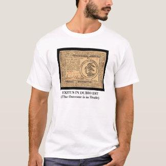 植民地通貨 Tシャツ