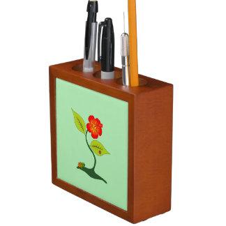 植物および花 ペンスタンド
