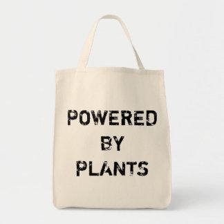 植物によって動力を与えられる トートバッグ