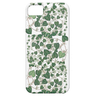 植物のつる植物は葉の箱を去ります iPhone SE/5/5s ケース