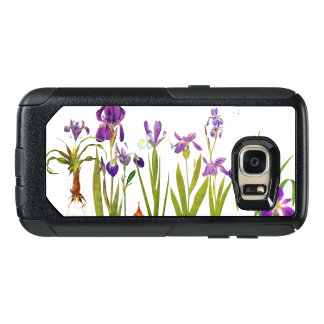 植物のアイリスによっては花の庭の箱が開花します オッターボックスSamsung GALAXY S7ケース