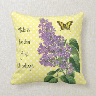 植物のアイルランドの国の薄紫 クッション