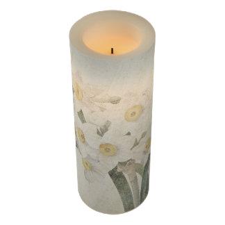 植物のスイセンによってはFlameless蝋燭が開花します LEDキャンドル