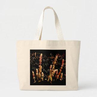 植物のスパイクのバッグ ラージトートバッグ