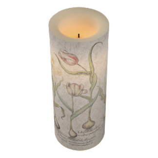 植物のチューリップによってはFlameless蝋燭が開花します LEDキャンドル