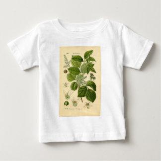植物のプリント-ツタウルシ(Toxicodendron) ベビーTシャツ