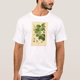 植物のプリント-ツタウルシ(Toxicodendron) Tシャツ