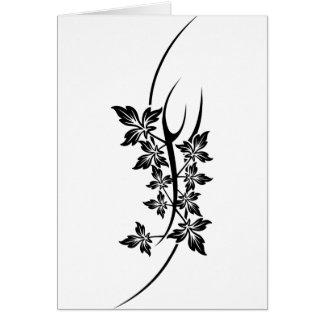 植物の入れ墨 カード