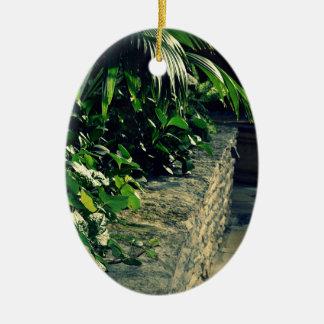 植物の壁-オーナメント セラミックオーナメント