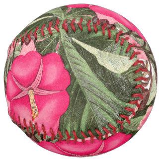 植物の朝顔によっては花のソフトボールが開花します ソフトボール