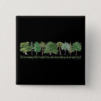 植物の木 缶バッジ