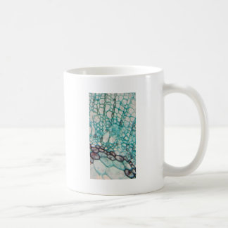 植物の細胞の顕微鏡製図 コーヒーマグカップ