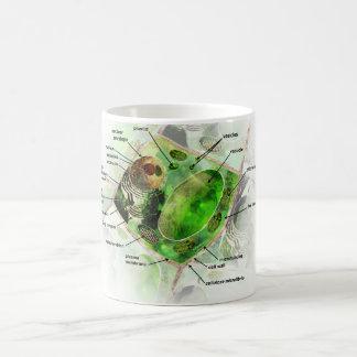 植物の細胞 コーヒーマグカップ