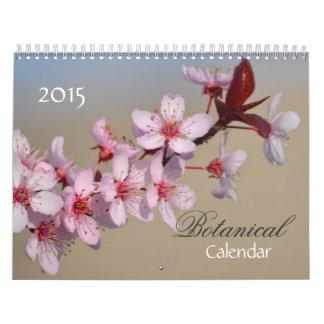 植物の花2015年 カレンダー
