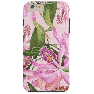 植物の蘭によっては熱帯花柄が開花します TOUGH iPhone 6 PLUS ケース