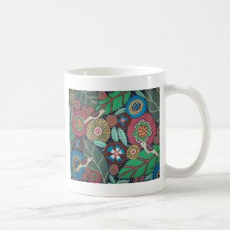 植物の3鳥 コーヒーマグカップ
