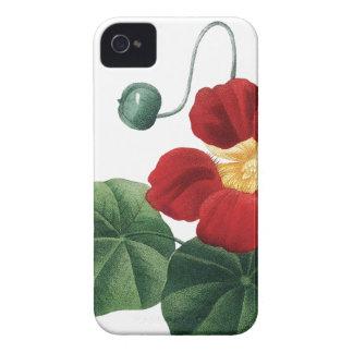 植物のiPhone 4/4Sの場合のキンレンカ Case-Mate iPhone 4 ケース