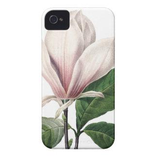 植物のiPhone 4/4Sの場合のピンクのマグノリア Case-Mate iPhone 4 ケース