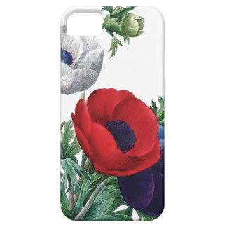 植物のiPhone 5つの場合のケシのアネモネ iPhone SE/5/5s ケース