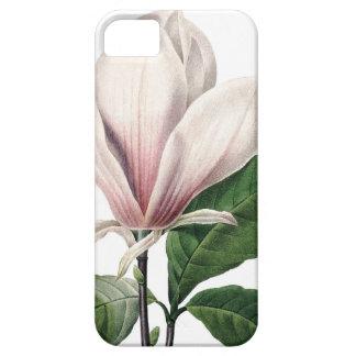 植物のiPhone 5の場合のピンクのマグノリア iPhone SE/5/5s ケース