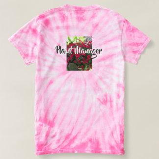 植物マネージャーが付いているTシャツ Tシャツ