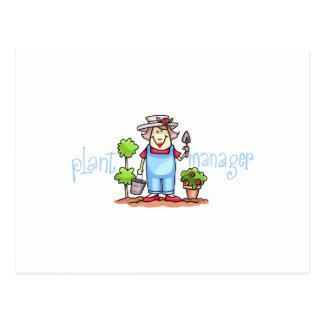 植物マネージャー ポストカード