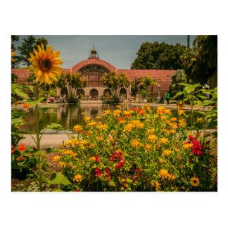 植物園のバルボア公園 ポストカード