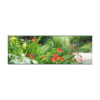 植物園の花 キャンバスプリント