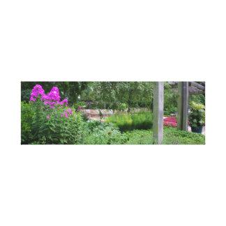 植物園 キャンバスプリント