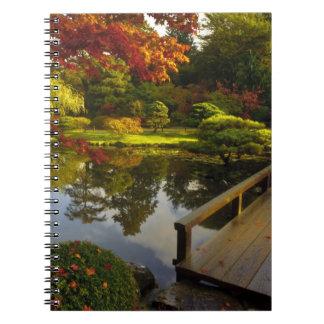 植物園、日本のな庭、シアトル、ワシントン州、 ノートブック