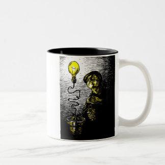 植物学 ツートーンマグカップ