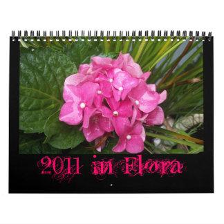 植物相の2011年 カレンダー