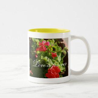 植物相 ツートーンマグカップ