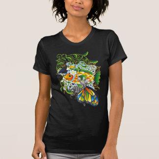 植物魚と猫蝶とオニオオハシ(Plant fish and Butterfly cat and Toc Tシャツ