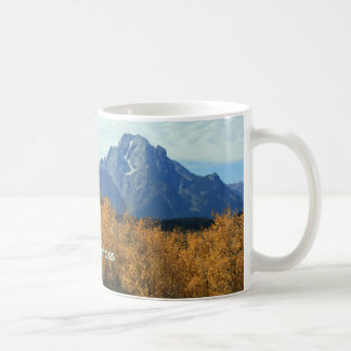 《植物》アスペンとの壮大なTetons コーヒーマグカップ