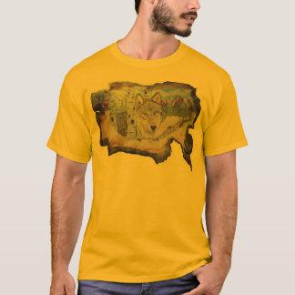 《植物》アスペンのオオカミのワイシャツ Tシャツ