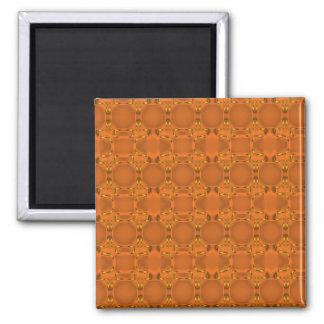 《植物》アスペンのオレンジ網の磁石 マグネット