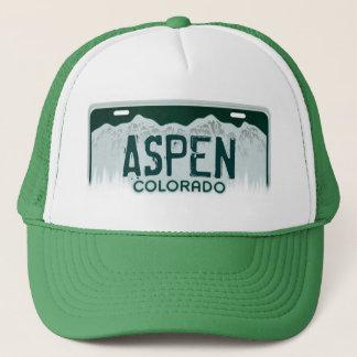 《植物》アスペンのコロラド州のナンバープレートの記念品の帽子 キャップ