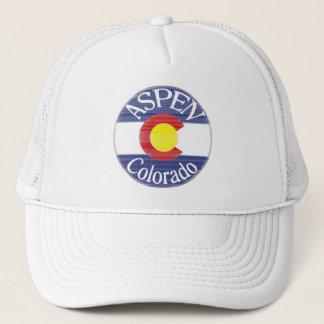 《植物》アスペンのコロラド州の円の旗の帽子 キャップ