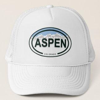 《植物》アスペンのコロラド州山のラベルの帽子 キャップ