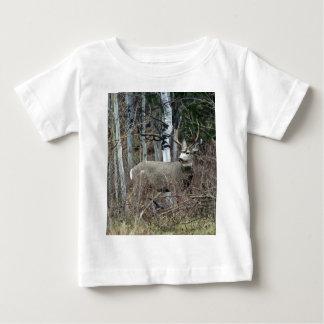 《植物》アスペンの木びき台 ベビーTシャツ