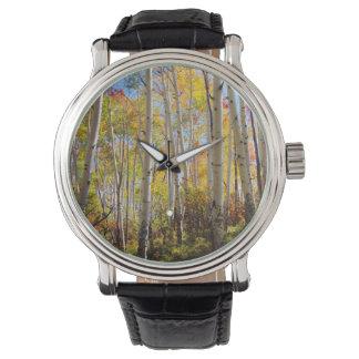 《植物》アスペンの木5の紅葉 腕時計
