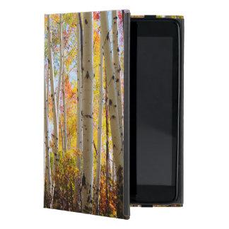 《植物》アスペンの木5の紅葉 iPad MINI ケース