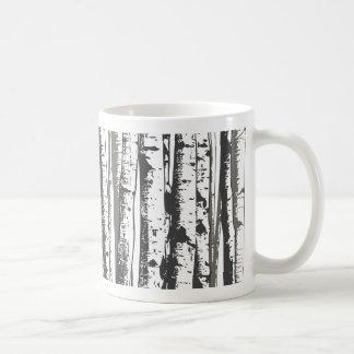 《植物》アスペンの木 コーヒーマグカップ