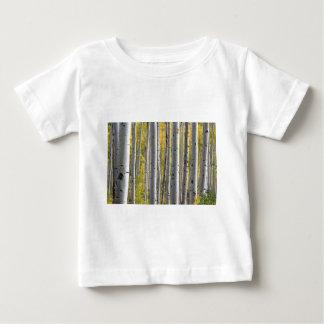 《植物》アスペンの木 ベビーTシャツ